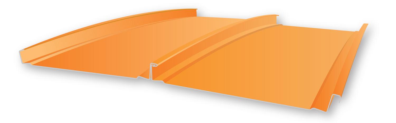 Curved Zee Lock Panel Metal Panels Inc