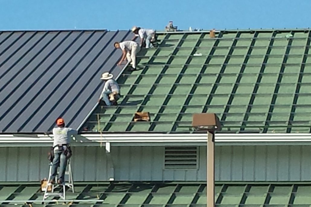 Roofing contractors for metal roofs