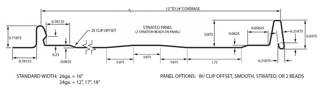 Ssff1 Panel Metal Panels Inc